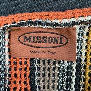 MISSONI Sweaters - MISSONI Multi-Color Stripe Sweater Top S